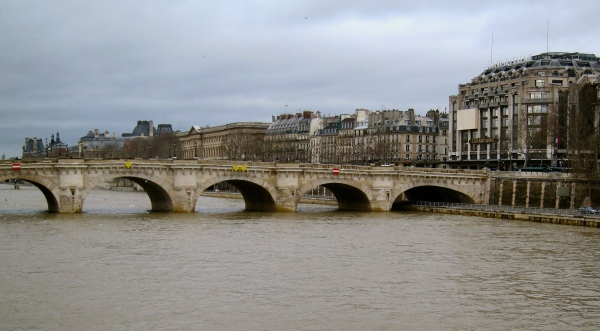 Keeping sane on the Seine by crossing water to find wine