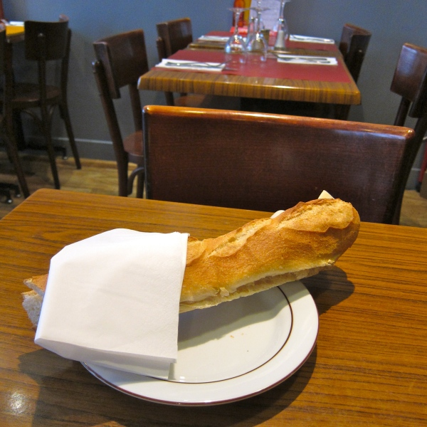 The baguette that saved the day