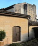 A blend of new and old - including the convent walls from 1389