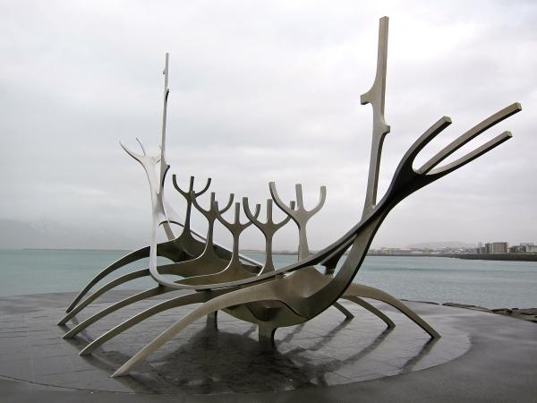 Viking settlement - half way to Vin Land