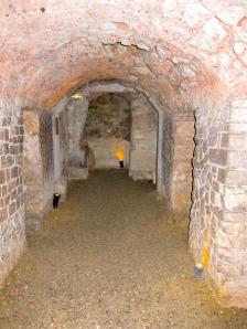 Ancient underground Roman cellar in Narbonne, near the Mediterranean