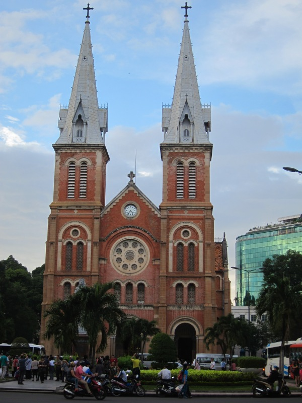 There's even a Notre-Dame Basilica in Saigon