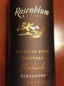 Rosenblum's Rockpile Zin