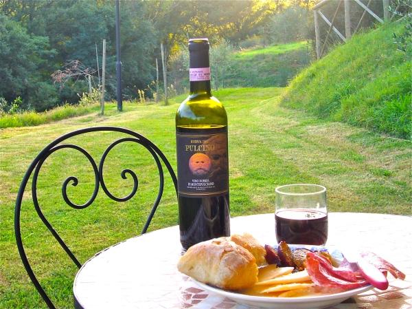 Vino Nobile di Montepulciano - legacy of Etruscans?