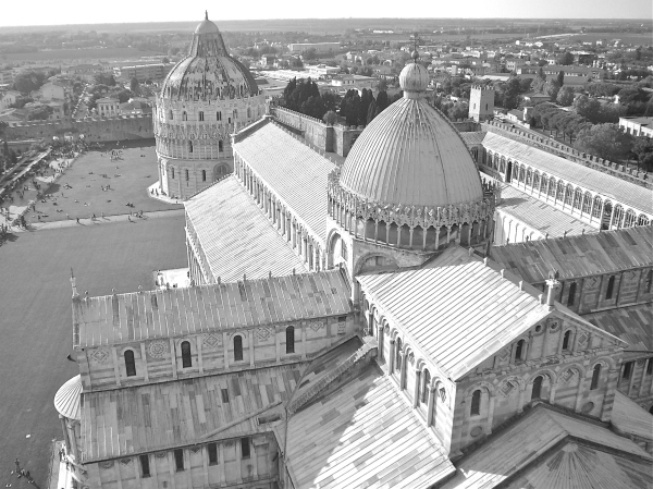 Tuscany's city of Pisa - long after the time of Etruscans
